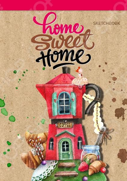 Блокноты. Тетради Эксмо 978-5-699-88911-2 Home sweet home! Coffee. Блокнот
