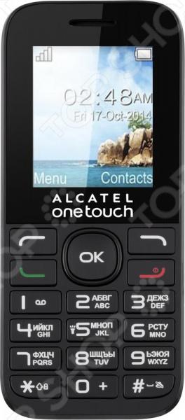 Телефон мобильный Alcatel OneTouch 1016D мобильный телефон alcatel onetouch 2008g black white