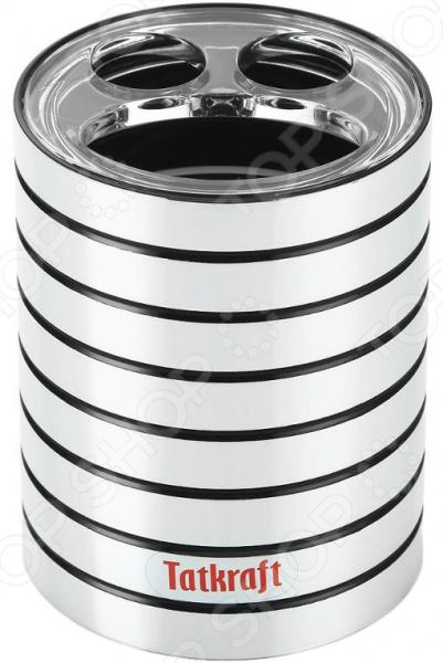 Стакан для зубных щеток Tatkraft Acryl Shine ёршик для туалета tatkraft paris mademoiselle acryl 3d