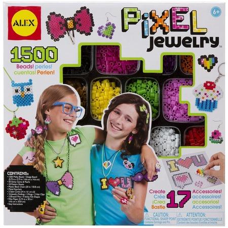 Купить Набор бусинок для создания украшений Alex «Пиксели»