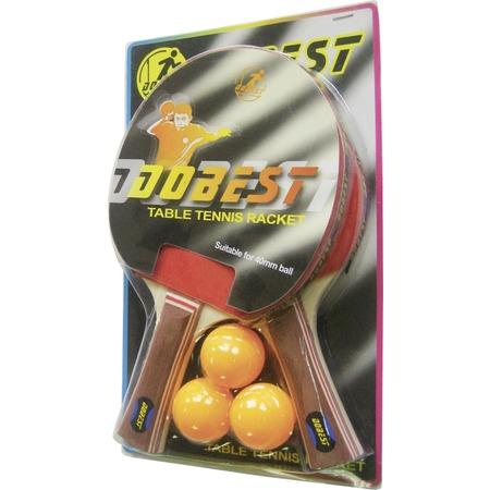 Купить Набор для настольного тенниса DoBest BR06 0*. В ассортименте