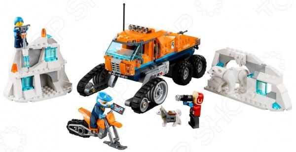 Конструктор игровой для ребенка LEGO City Arctic Expedition «Грузовик ледовой разведки»