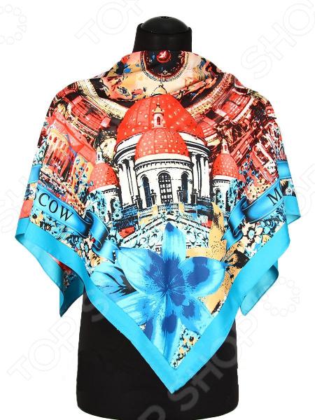 Платок Bona Ventura PL.XL-SLK5.12 недорогой платок на шею для женщин