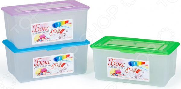 Набор контейнеров для хранения Полимербыт SGHPBKP48 «Бокс для мелочей»