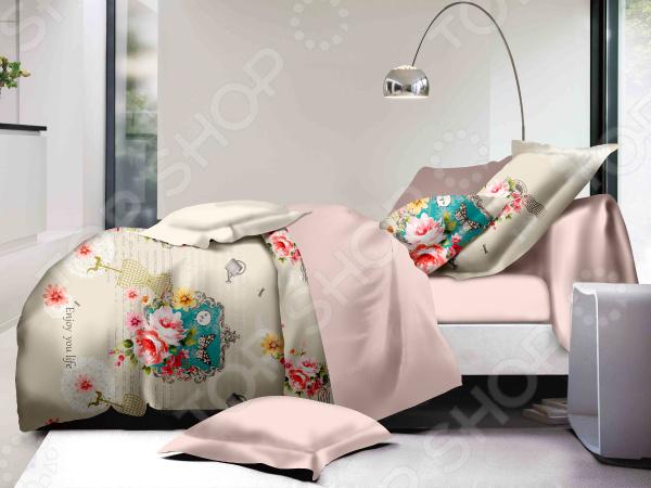 цена на Комплект постельного белья Cleo 037-PL
