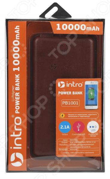 Аккумулятор внешний Intro PB1001