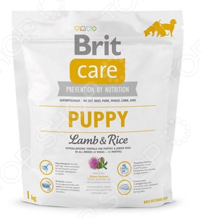 Care Puppy Lamb & Rice ���� ����� ��� ������ Brit Care Puppy Lamb & Rice