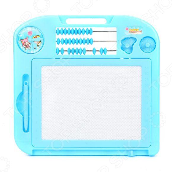 Доска для рисования Наша Игрушка цветная 635721 магнитная доска наша игрушка доска д рис магн со счетами hs907