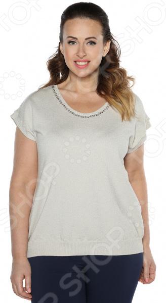 Блузка Milana Style «Блестящий день» Цвет: бежевый платье milana style milana style mi038ewxjv28