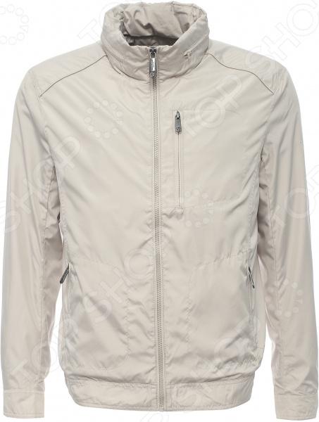 Куртка Finn Flare B17-21027. Цвет: светло-бежевый