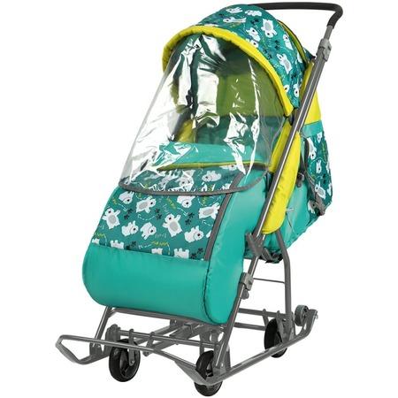 Купить Санки-коляска Ника «Умка». Рисунок: медвежата