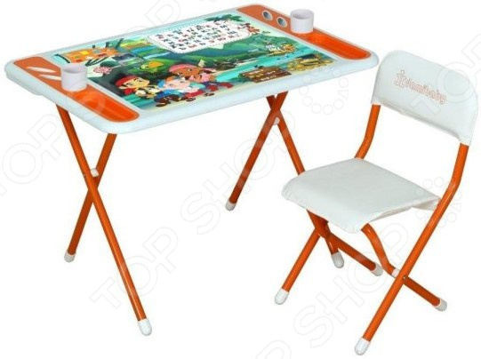 Набор складной детской мебели Дэми «Джейк и пираты Нетландии» набор складной мебели irit irg 524 набор стол и 2 стула