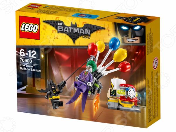 Конструктор игровой LEGO The Batman Movie «Побег Джокера на воздушном шаре» lego education 9689 простые механизмы