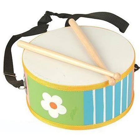Купить Барабан Мир Деревянной Игрушки Д-215. Рисунок: цветок. В ассортименте
