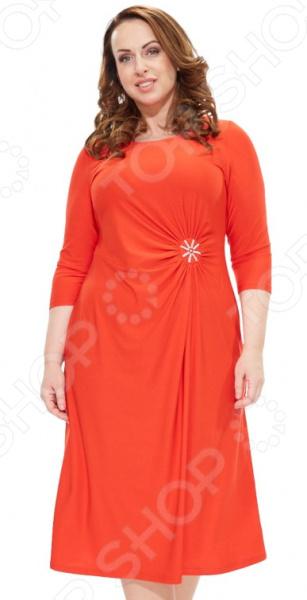 Платье Svesta «Кларина». Цвет: красный платье брошь svesta платье брошь