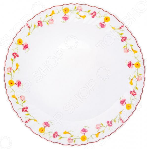 Тарелка обеденная Miolla «Вьюнок»