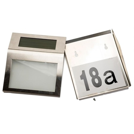 Купить Табличка для номера дома с подсветкой Bradex «Мой дом»