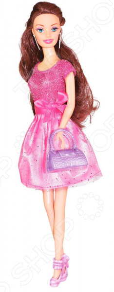 Кукла с аксессуарами Toys Lab «Шатенка: Сверкающий стиль»