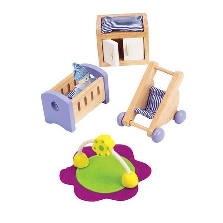 Купить Мебель для домика Hape «Комната для малыша»