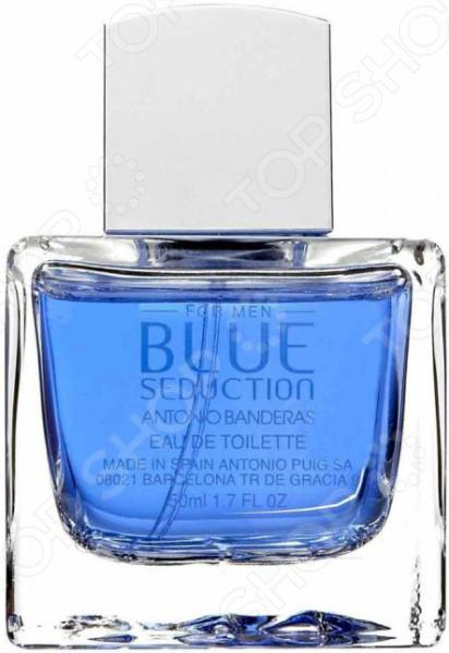 Туалетная вода для мужчин Antonio Banderas Blue Seduction antonio banderas blue seduction man туалетная вода blue seduction man туалетная вода
