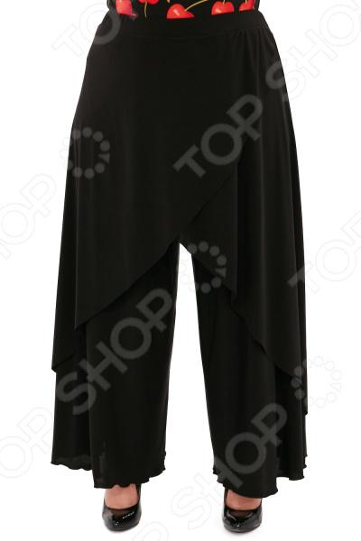 Юбка-брюки Pretty Woman «Крылья Пегаса». Цвет: черный юбка woman цвет черный