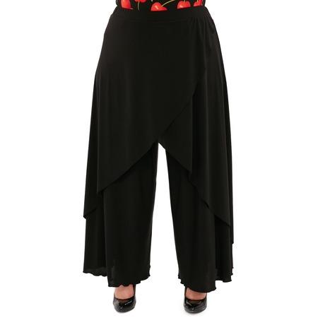 Купить Юбка-брюки Pretty Woman «Крылья Пегаса». Цвет: черный