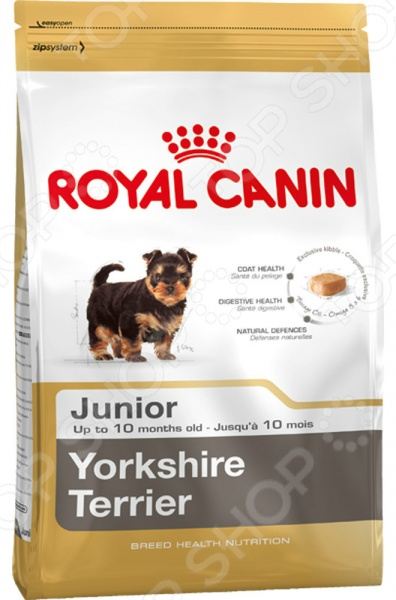 Корм сухой для щенков йоркширских терьеров Royal Canin Junior Yorkshire Terrier