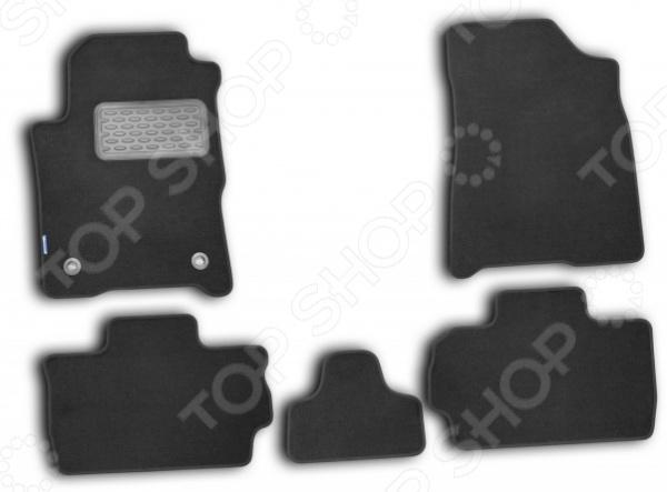Комплект ковриков в салон автомобиля Novline-Autofamily Chery Bonus A13 2010 комплект 3d ковриков в салон автомобиля novline autofamily ford mondeo 2015