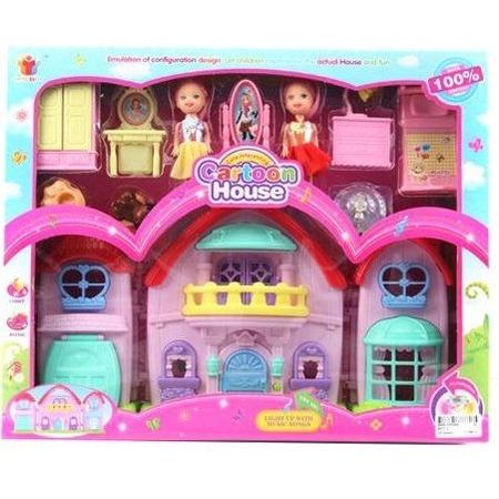 Купить Кукольный дом с аксессуарами Shantou Gepai 8077-2