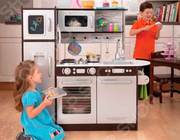 Кухня детская с аксессуарами KidKraft «Эспрессо» кукольные домики и мебель kidkraft игровая угловая кухня 53368 ke
