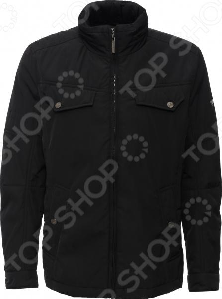 Куртка Finn Flare B16-22008. Цвет: черный