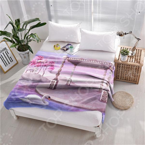 фото Плед флисовый ТамиТекс «Жизнь прекрасна», купить, цена