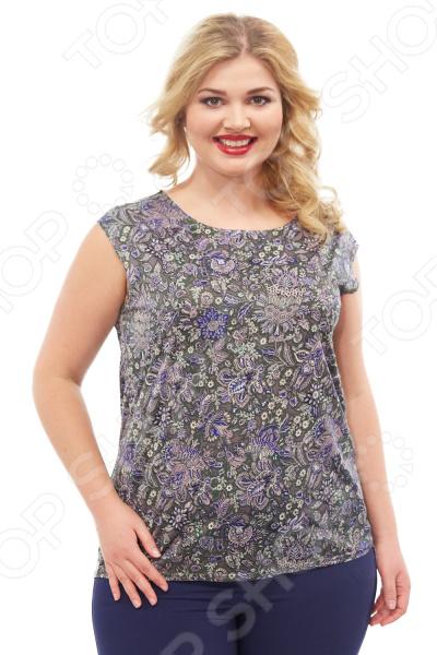 Блуза Элеганс «Верия». Цвет: зеленый