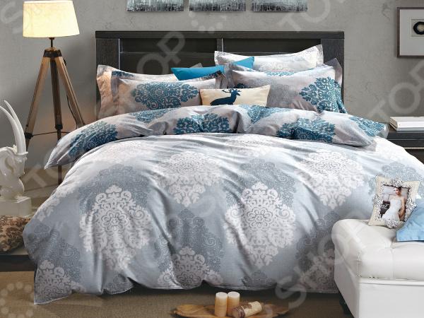 Фото - Комплект постельного белья Cleo 400-SK постельное белье этель кружева комплект 2 спальный поплин 2670978