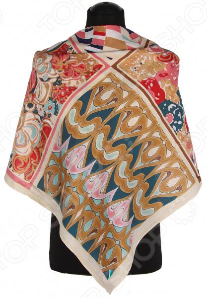 Платок Bona Ventura PL.L-H.Pr2.11 недорогой платок на шею для женщин