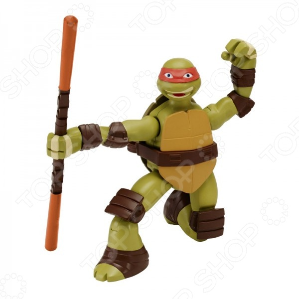 Фигурка заводная Nickelodeon «Суперповорот Майки» nickelodeon игрушка детская черепашки ниндзя игрушки мялки 6 шт в наборе