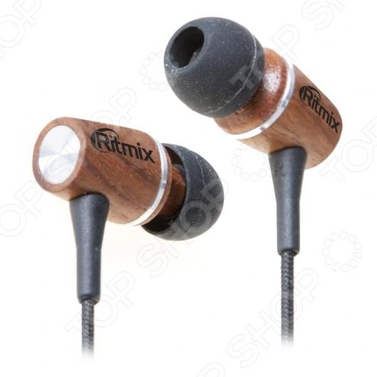 Наушники вставные Ritmix RH-160 ritmix rh 160 wooden