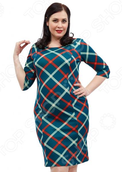 Платье Лауме-стиль «Легкая влюбленность». Цвет: зеленый