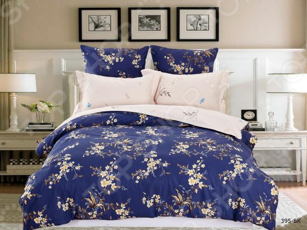 Комплект постельного белья Cleo 395-SK комплекты постельного белья cleo постельное белье hunter 2 спал