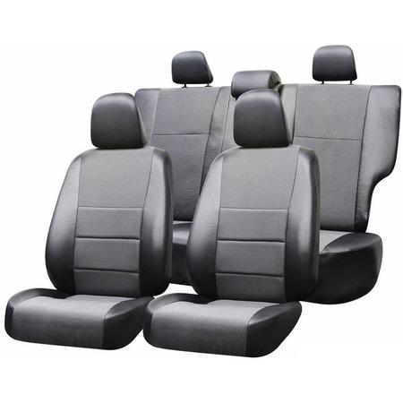 Купить Набор чехлов для сидений Defly Renault Logan, 2014, экокожа