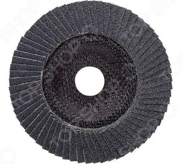 Круг лепестковый для угловых шлифмашин Bosch Best for Metal 2608606737 диск отрезной алмазный для угловых шлифмашин bosch professional for abrasive