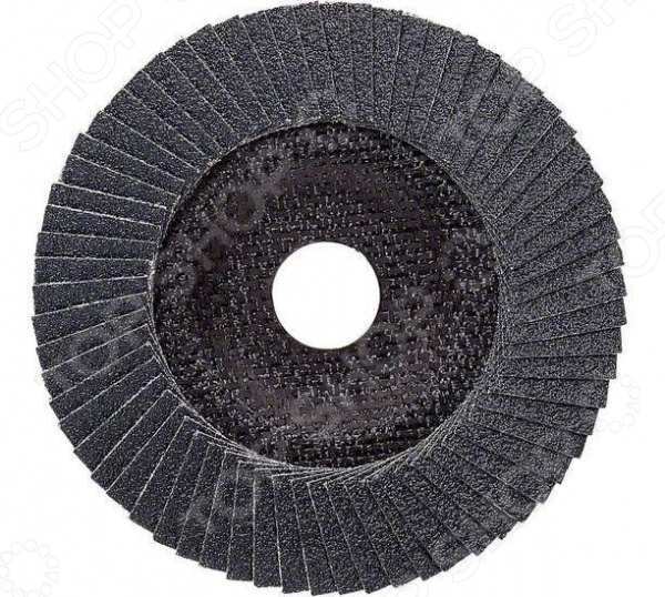 Круг лепестковый для угловых шлифмашин Bosch Best for Metal 2608606737 фланец bosch 1605703099