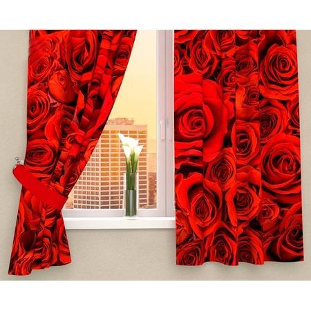 Купить Фотошторы Сирень «Алые розы»