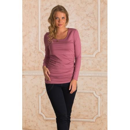 Купить Кофта для беременных Nuova Vita 1396.1. Цвет: розовый