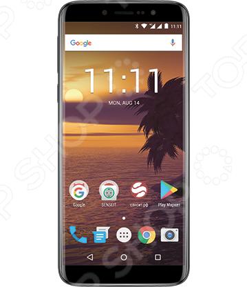 Смартфон SENSEIT T189 8Gb смартфон senseit t250 black