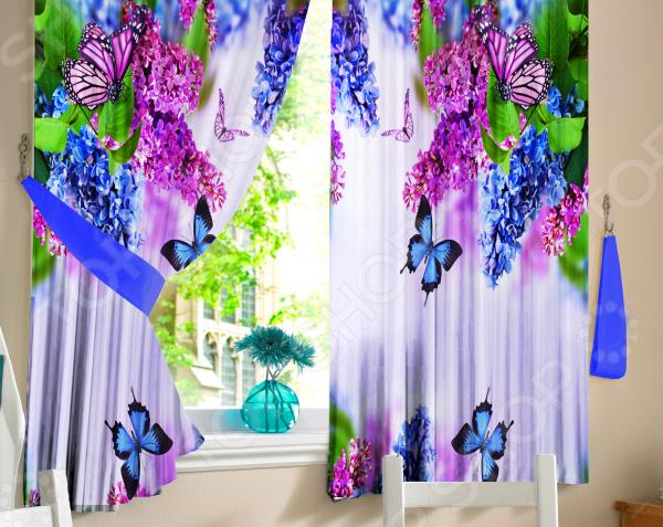 Комплект штор ТамиТекс «Сирень»