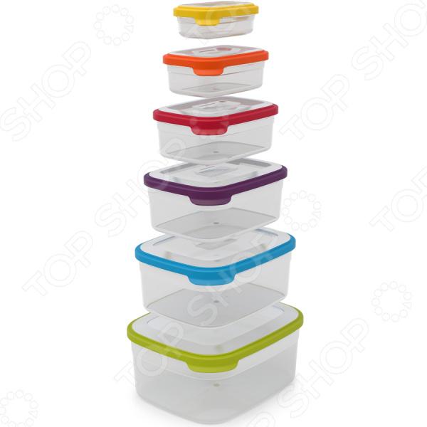 Набор контейнеров для продуктов Joseph Joseph Nest 6