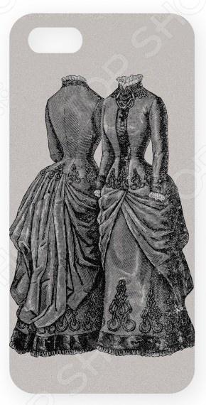 Чехол для IPhone 5 Mitya Veselkov «Платья» платья