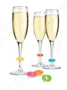 Маркеры для бокалов Party Tescoma Uno Vino