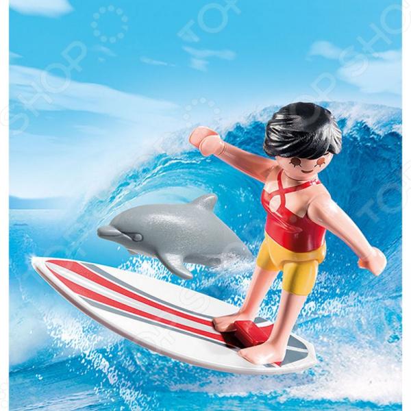Конструктор игровой Playmobil «Экстра-набор: Серфингист с доской»